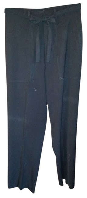 Banana Republic Tie Trouser Pants Black