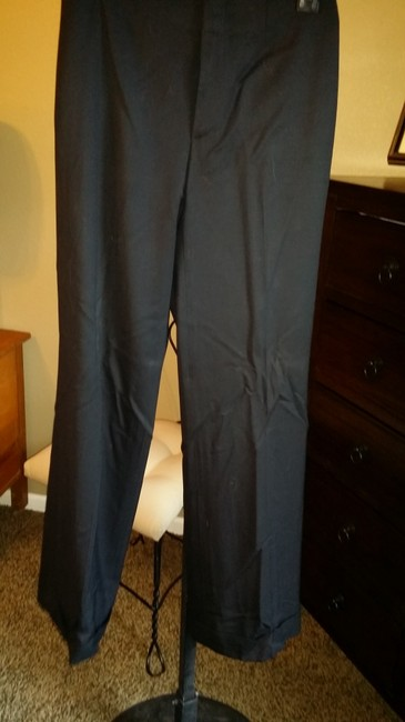 Banana Republic Wool 4 Trouser Pants Black