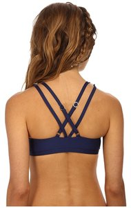 Splendid Splendid Colorblock Strappy Sports Bra Navy + Orange
