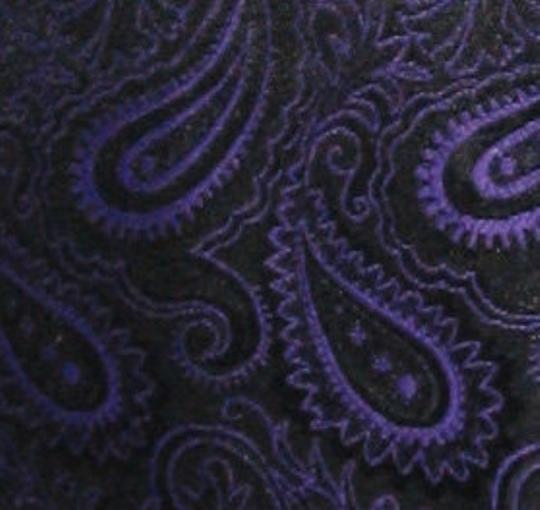 Purple Medium Paisley Tuxedo Vest