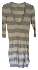 Banana Republic short dress Gray and cream Sweater on Tradesy