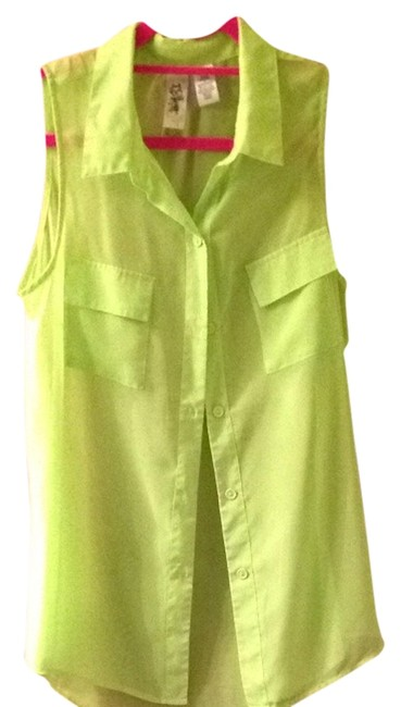 Preload https://item5.tradesy.com/images/l8ter-lime-green-blouse-size-8-m-790639-0-0.jpg?width=400&height=650