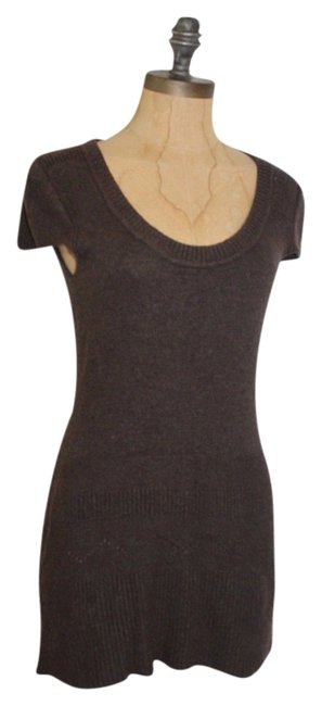 Item - Brown Knit Sweater Tunic Size 4 (S)