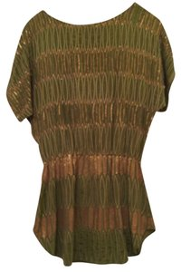 NAMRATA JOSHIPURA Beaded Top Green/gold