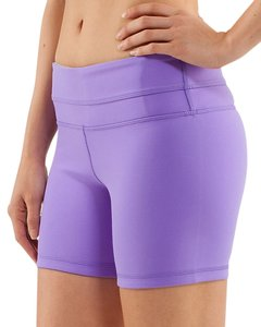 Lululemon Light Purple Women Lululemon Groove Shorts.