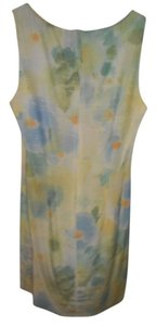 FREDERICKS OF HOLLYWOOD short dress FLORAL BLUE GREEN PEACH Summer on Tradesy