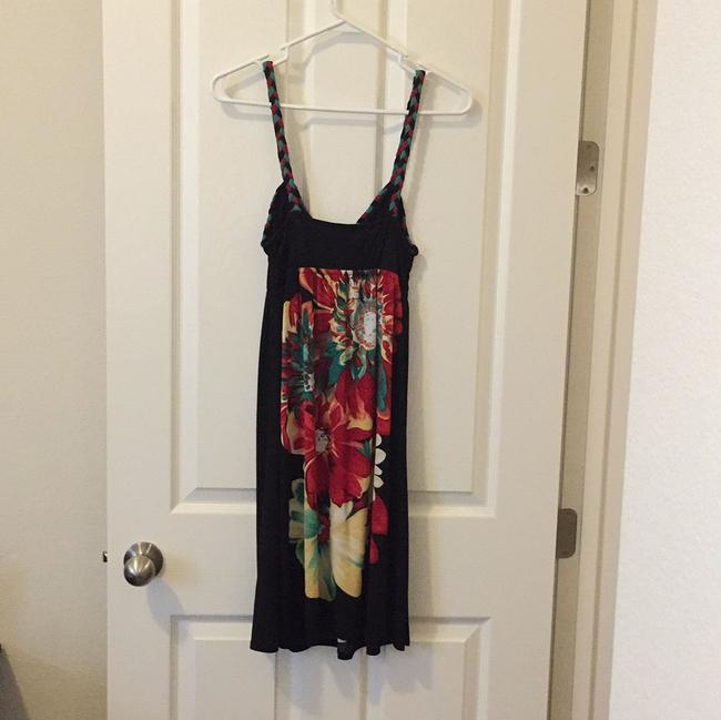 Forever 21 short dress Black Red Yellow Teal on Tradesy