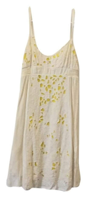 Preload https://img-static.tradesy.com/item/790763/urban-outfitters-cream-yellow-lace-lace-mini-short-casual-dress-size-8-m-0-0-650-650.jpg
