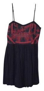 Urban Outfitters short dress Navy Red on Tradesy