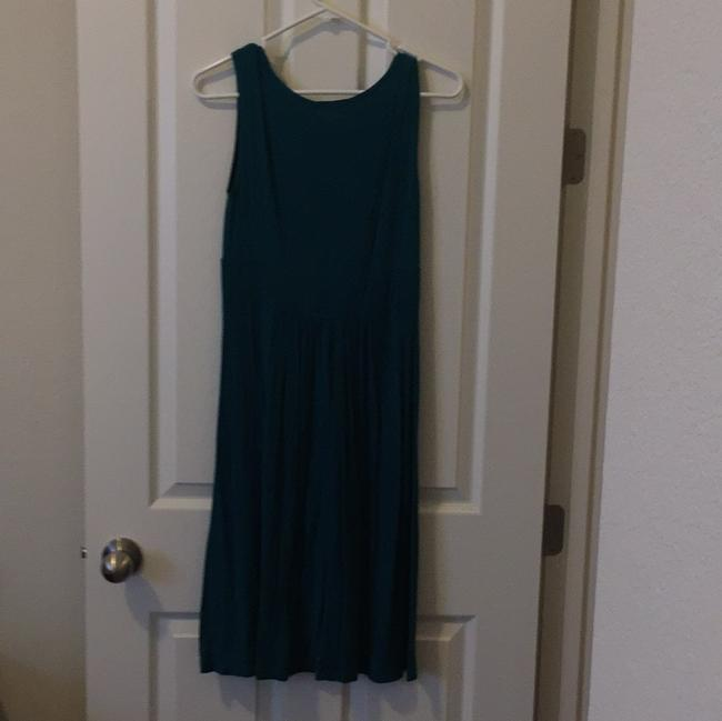 Soprano short dress Teal on Tradesy