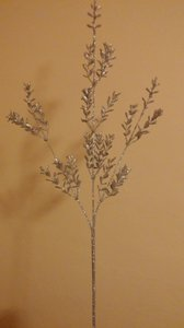 Joann's Fabric Silver Branches Centerpiece