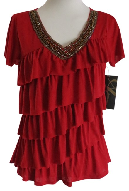 Preload https://item5.tradesy.com/images/absolutely-famous-red-new-with-tags-small-blouse-size-6-s-790899-0-0.jpg?width=400&height=650