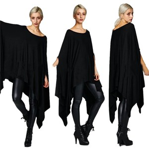 Isola Batwing Blouse Women Clothing Cape