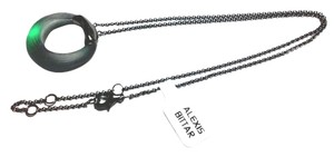 Alexis Bittar Alexis Bittar Lucite Small Circle Pendant Necklace