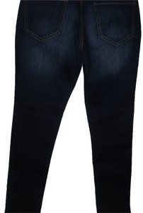 New York & Company Ny Blue Straight Leg Jeans