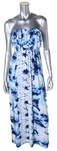 BLUE WHITE Maxi Dress by Style & Co