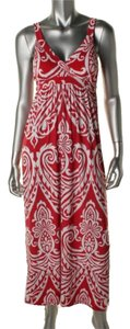 RED WHITE Maxi Dress by INC International Concepts