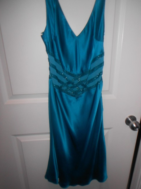 Frederick's of Hollywood Hand Beaded Sheer Size 6 Summer Dress