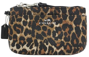 Coach Wristlet in Brown/Multicolor