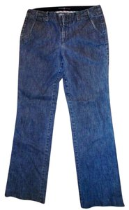 Gap The Size 4 Straight Leg Jeans-Medium Wash
