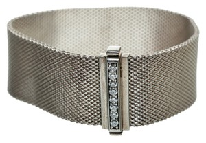 Tiffany & Co. Tiffany & Co. Sterling Silver and Diamond Somerset Bracelet