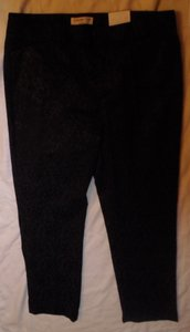 Coldwater Creek Relaxed Pants Black