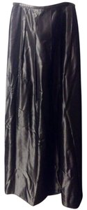 David Meister Formal Metallic Maxi Skirt