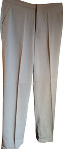 Old Navy 4l 4 Trouser Pants Beige/Khaki
