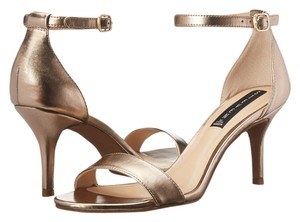 Steven by Steve Madden Sexy Size 8.5 metal gold Sandals