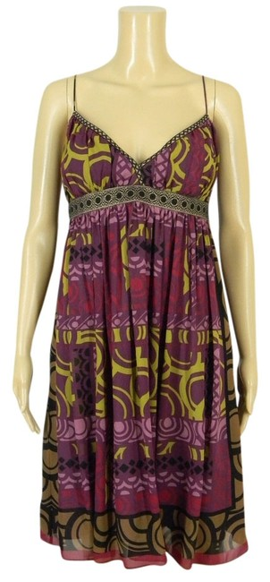 Nicole Miller Silk Party Night Out Dress