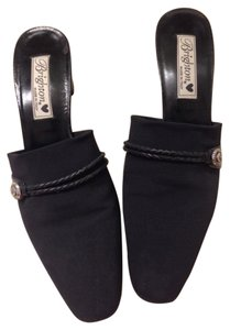 Brighton black Mules
