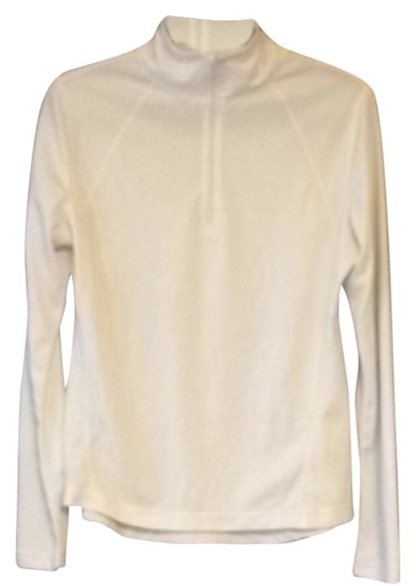 Item - White 93216 Activewear Top Size 12 (L, 32, 33)