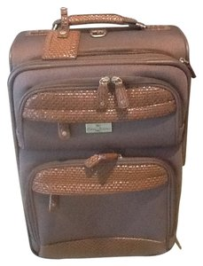 Tommy Bahama Travel Suitcase Olive - Brown Travel Bag