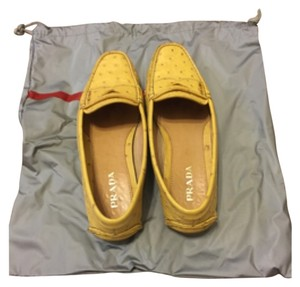 Prada Yellow Flats