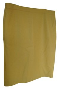 J.Crew Professional Work Skirt Mustard