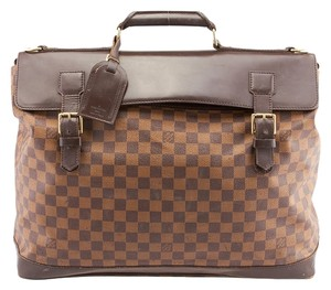 Louis Vuitton Lv West End Pm Damier Ebene Brown Travel Bag