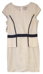 J. Taylor short dress Cream Spcial Occasion Eyelet Lace Classic New With Tags on Tradesy