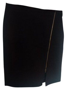 J.Crew Sexy Structured Edgy Pencil Skirt Black