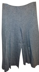 Newport News Gaucho 6 Wide Leg Capris Black