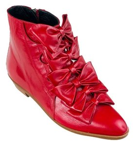 Modern Vice Jett Bootie Bow Red Boots