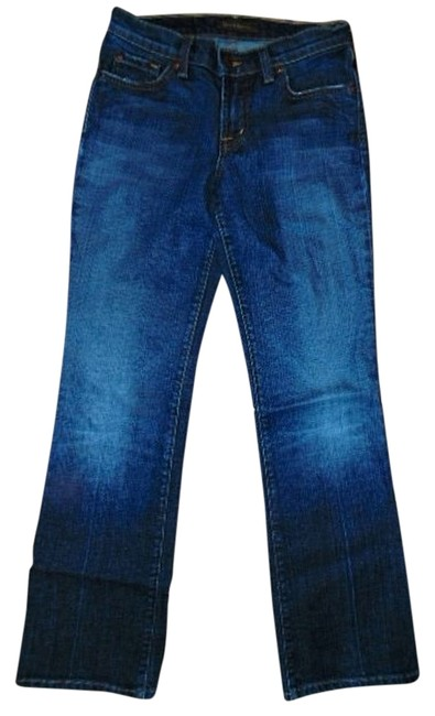 David Kahn Size 2p P334 Boot Cut Jeans-Medium Wash