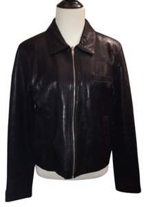 Rem Garson Genuine Leather Fall Leather Jacket