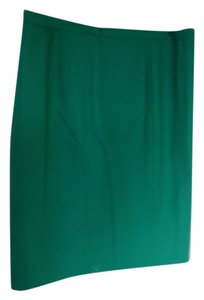 J.Crew No.2 Pencil Cotton Skirt Green