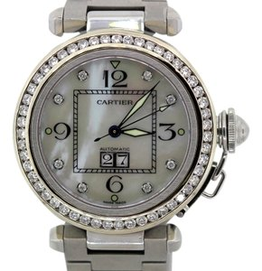 Cartier CARTIER PASHA DIAMOND BEZEL WATCH
