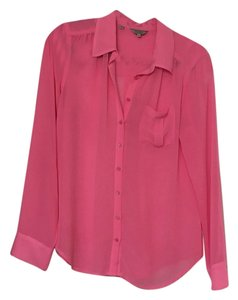 Guess By Marciano Button Down Shirt Pink