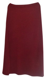 Dialogue Skirt Burgundy