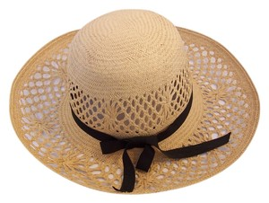 Anne Moore New York Anne Moore Large Brim Straw Hat