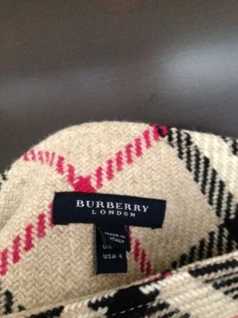 Burberry Mini Skirt Traditional Plaid