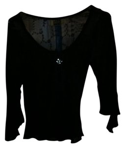 Lianne Barnes Gothic Top Black