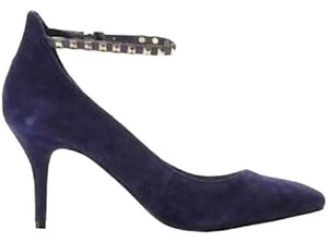 BCBGeneration Suede Blue Pumps